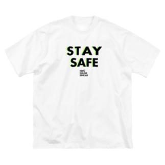 STAY SAFE Big silhouette T-shirts