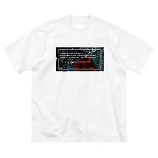 電子基板  Big silhouette T-shirts