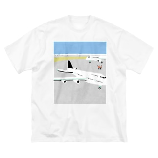 Airport Big silhouette T-shirts