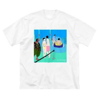 スペクタクル横綱 Big silhouette T-shirts