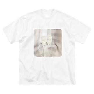 ともだちになろう Big silhouette T-shirts