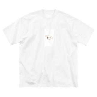 アル中しなもん Big silhouette T-shirts