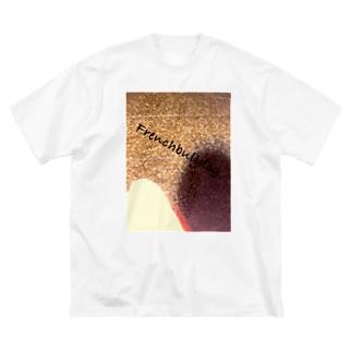 コルクの床とフレブル推し Big silhouette T-shirts