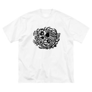 euphoria_night Big silhouette T-shirts