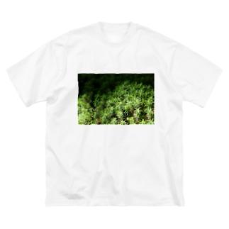 スギゴケちゃん Big silhouette T-shirts