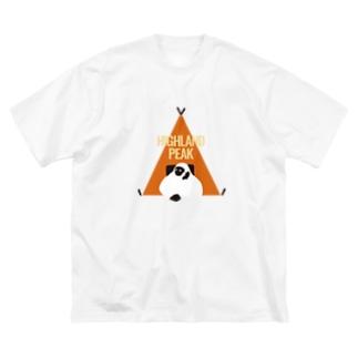 HIGHLAND PEAK Big silhouette T-shirts