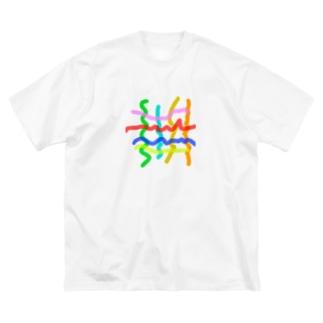 4×4エモ Big silhouette T-shirts