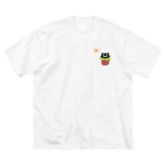 うえきねこ Big T-shirts