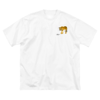 眼鏡虎 Big silhouette T-shirts