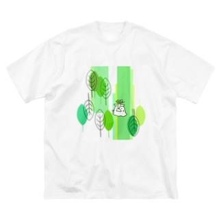 森の長老 Big silhouette T-shirts