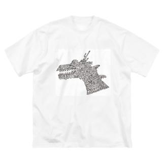 DRAGON Big silhouette T-shirts