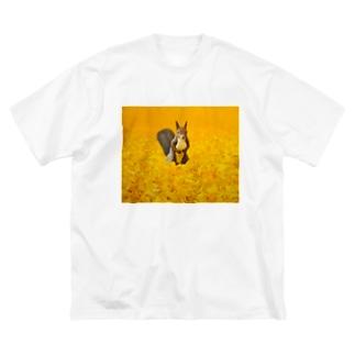 出逢い Big silhouette T-shirts