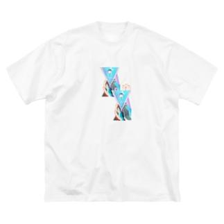 いのり Big silhouette T-shirts
