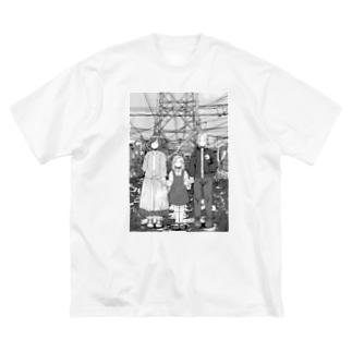 イカフライ Big silhouette T-shirts