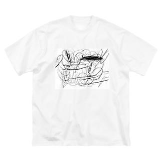 大掃除 Big silhouette T-shirts