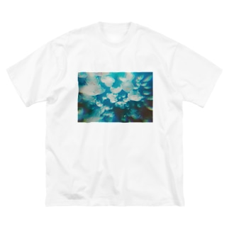 海月 Big silhouette T-shirts