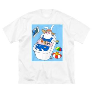 夏の暑さにも負けないMCミサキング Big silhouette T-shirts