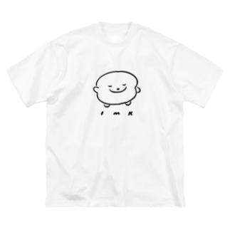 INUMEDAKA Big silhouette T-shirts