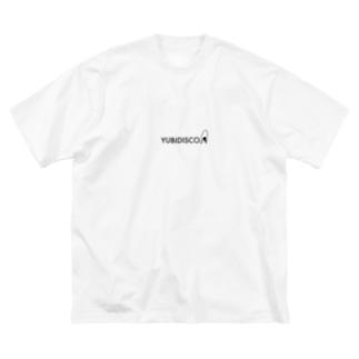 YUBIDISCO Big silhouette T-shirts