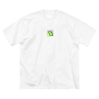 冷静スープtee Big silhouette T-shirts