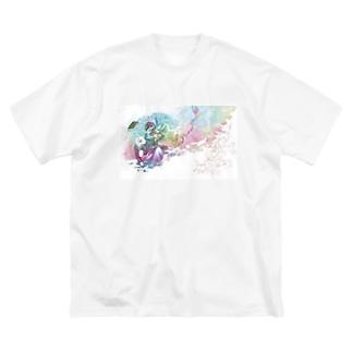 わたしの味方 Big silhouette T-shirts