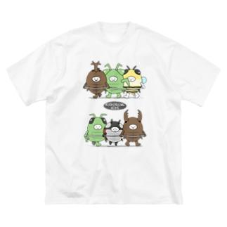 きぐるみキッズ(昆虫) Big silhouette T-shirts