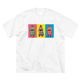 3Ruchas Big silhouette T-shirts