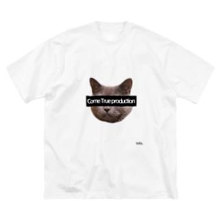 ComeTrue production Big silhouette T-shirts