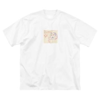 こんDO-T Big silhouette T-shirts