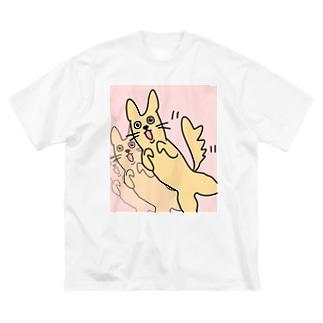 いんぬ Big silhouette T-shirts