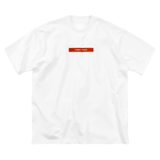 simple TOBA TOBA Big silhouette T-shirts