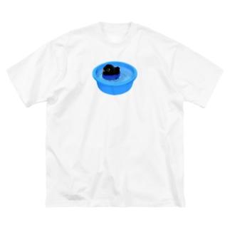 ぷかぷかヤタちゃん Big silhouette T-shirts
