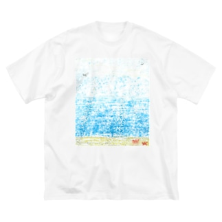 2日目の朝 Big silhouette T-shirts