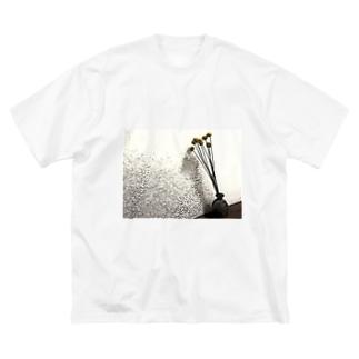クラスペディアアートTシャツ Big silhouette T-shirts