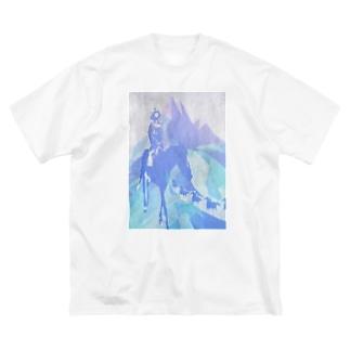 さらさら越え Big silhouette T-shirts