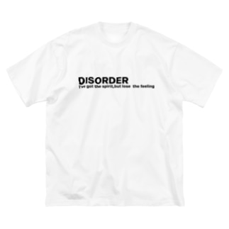 DISORDER Big silhouette T-shirts