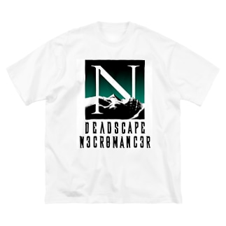 DEADSCAPE Big silhouette T-shirts