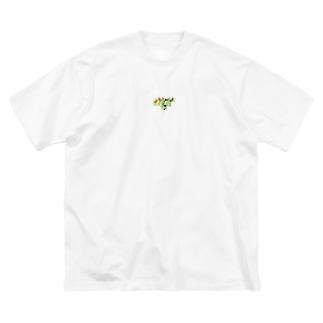 モザ豊島区(東京) Big silhouette T-shirts