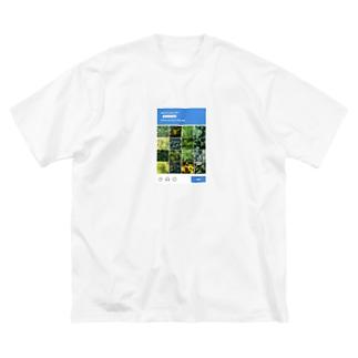 cannabis  Big silhouette T-shirts