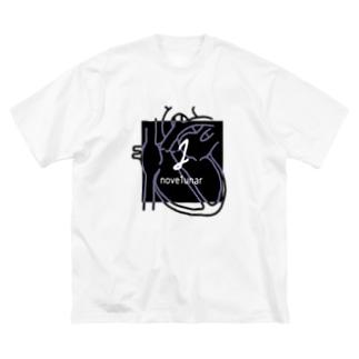 nove1unar logo Big silhouette T-shirts