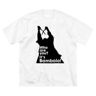 It's Bambolo!(バンボロ) Big silhouette T-shirts