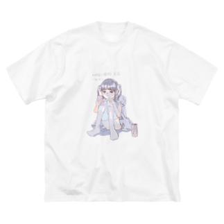 「時短で描ける方法」を検索するメイド服っぽい女の子 Big silhouette T-shirts