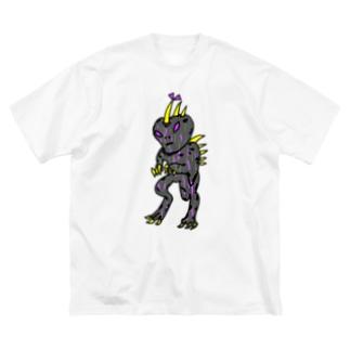 クラシカルチュパカブラTしゃつ🎵 Big silhouette T-shirts