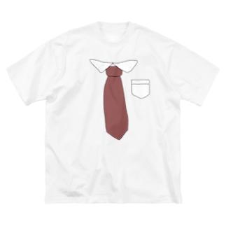 在宅ワーク用 Big silhouette T-shirts