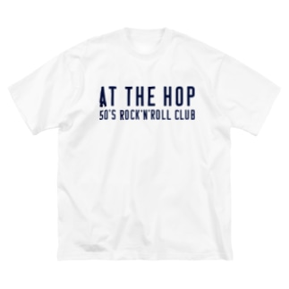 at the hop Big silhouette T-shirts