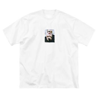 不純 Big silhouette T-shirts