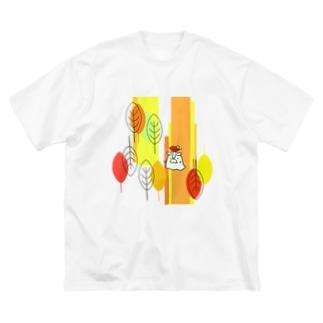 森の長老・秋 Big silhouette T-shirts