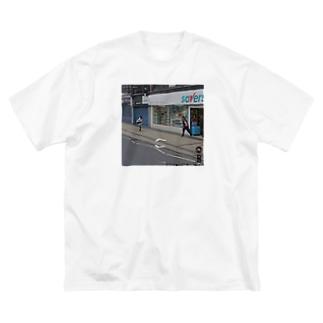 ストリートビューT Big silhouette T-shirts