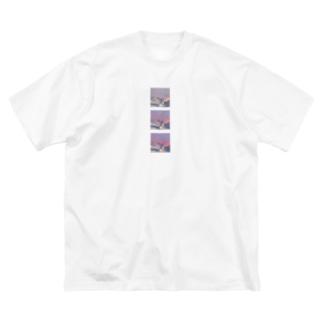 空 3types Ⅱ Big silhouette T-shirts