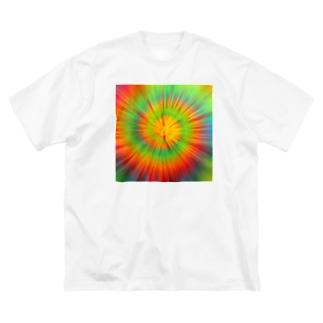 サイケデリック Big silhouette T-shirts